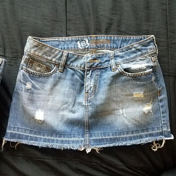 Bullhead Pants - Distressed Jean skirt